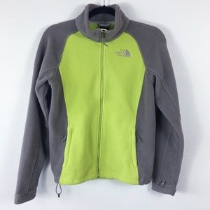 The North Face Women's Fleece Jacket Small Green